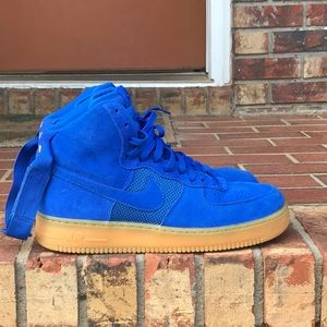 Nike Air Force One High Royal Sz 10.5